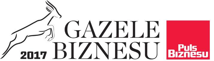 Gazele Biznesu 2017 – Business Sense wśród najdynamiczniej rozwijających się firm MśP w Polsce