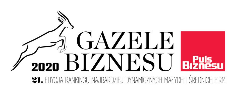 Po raz kolejny w gronie najbardziej dynamicznych małych i średnich firm w Polsce – Gazele Biznesu 2020.
